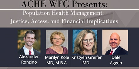 Population Health Management: Justice, Access, and Financial Implications tickets