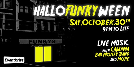 HALLO'FUNKYWEEN PARTY  at Funky Winker Beans tickets