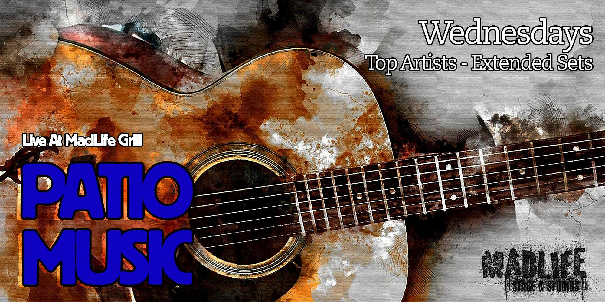 WED Patio: Top Artists — Extended Sets Hosted by Greg Shaddix