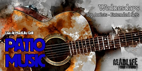 WED Patio: Top Artists — Extended Sets Hosted by Greg Shaddix tickets