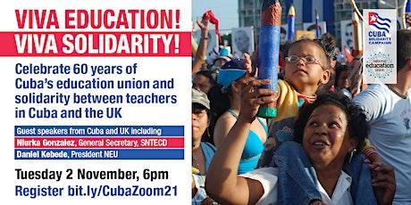 Viva Education! Viva Solidarity! tickets