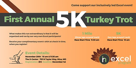 Turkey Trot | Excel Day Program tickets