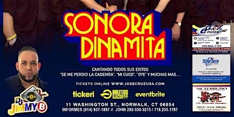 ORQUESTA SONORA DINAMITA-Bambú Night Club Oct 23-21, Norwalk-CT,-06854 JCP tickets