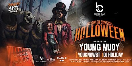 Young Nudy Halloween Extravaganza at Saloon 2.0 tickets