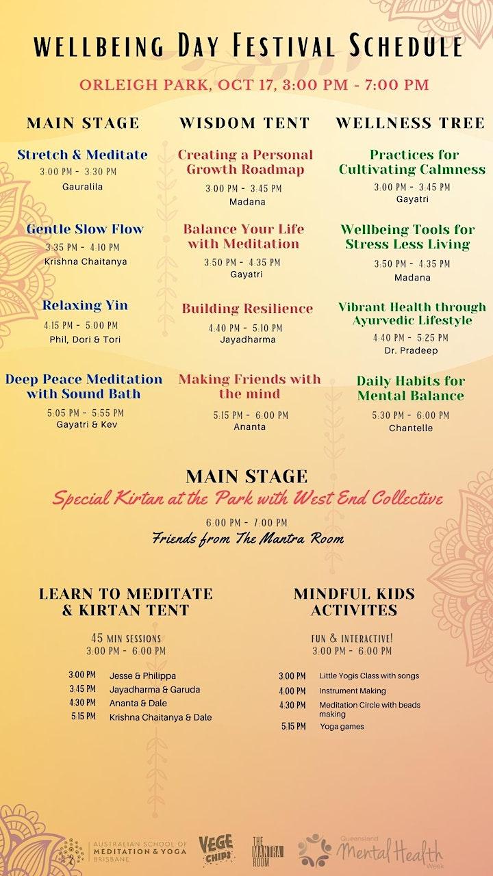 Wellbeing Day Festival Brisbane 2021 image