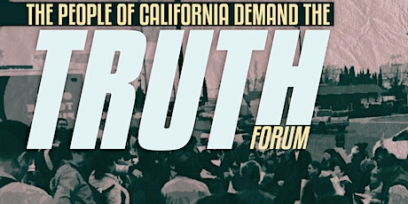 TRUTH ACT FORUM PLANNING MEETING tickets