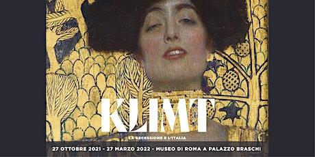 Klimt. La Secessione e l'Italia | 27 ottobre 2021 biglietti