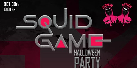 """""""Squid Game""""  Halloween Party tickets"""