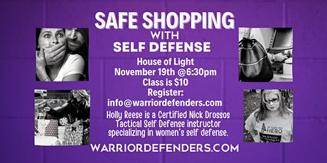 SAFE SHOPPING WITH SELF DEFENSE tickets