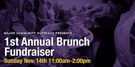 Major Community Outreach Brunch Fundraiser tickets