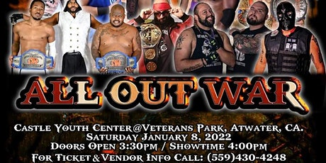 CWA: All Out War (live pro wresting) tickets