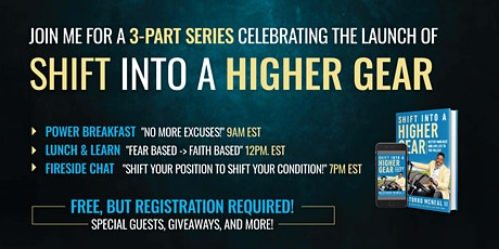 Shift Into A Higher Gear Launch Celebration tickets
