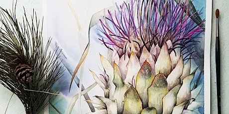 WATERCOLOUR PAINTING CLASS FOR ADULTS tickets