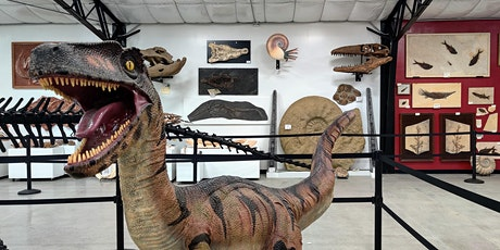 Dine with the Dinosaurs tickets