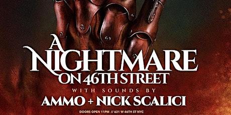 NIGHTMARE ON 46th STREET @ HARBOR NYC! SAT. Oct 30th tickets