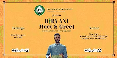 Biryani Meet & Greet tickets