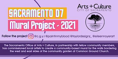 D7 Community Mural Paint Day/Art Show tickets