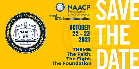 87th Annual Virtual NAACP PA State Conference Convention tickets