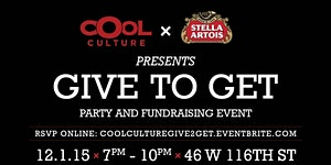 Cool Culture - Give to Get Party