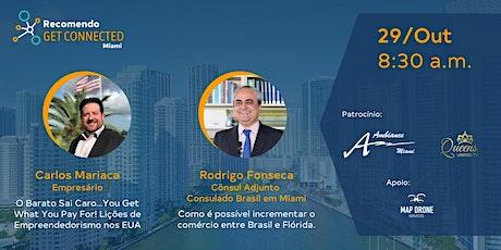Get Connected - Quarta Edição Miami - A melhor rodada de negócios de Miami tickets