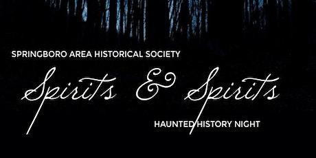 Spirits and Spirits tickets
