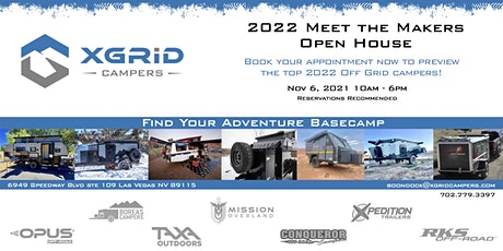 XGRiD Campers Meet the Makers Open House tickets