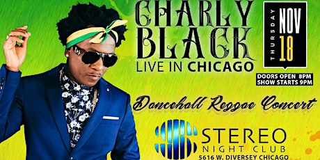 Charly Black Chicago Concert tickets