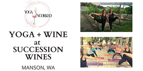 Yoga + Wine at Succession Wines tickets