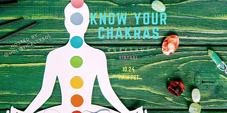 Know Your Chakras [Virtual Workshop] tickets