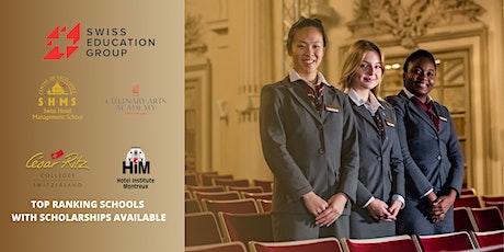 Post-Fair FREE Webinar: Swiss Education Group tickets