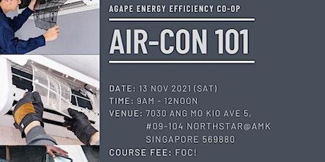 Air-Con 101 tickets