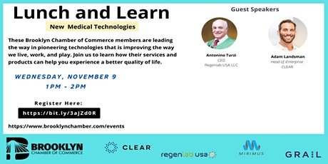 Lunch and Learn | New Medical Technologies tickets