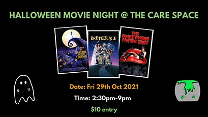 Halloween Movie Night @ the Care Space tickets