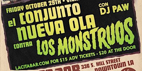 El Conjunto Nueva Ola contra Los Monstruos! tickets