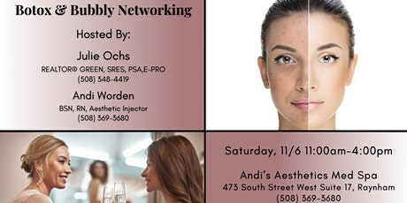 Botox & Bubbly Networking tickets