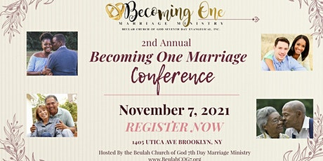 Becoming One Marriage Conference 2021 tickets