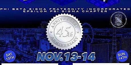 EPSILON PSI SIGMA'S Chapter 45th Anniversary Celebration tickets