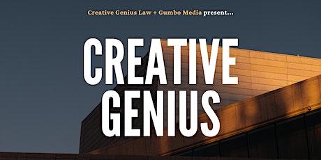 Creative Genius tickets