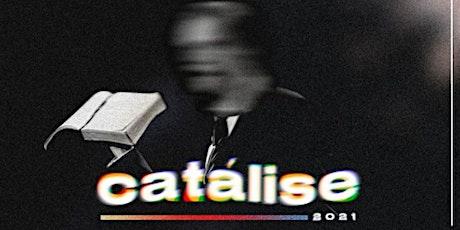 Catálise | Conferência ingressos