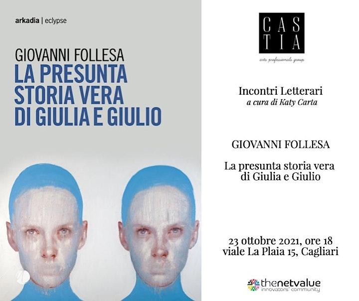 Immagine Incontri letterari di Castia Art:  GIOVANNI FOLLESA