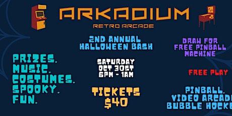 2nd Annual - Arkadium Retro Arcade Halloween Bash tickets