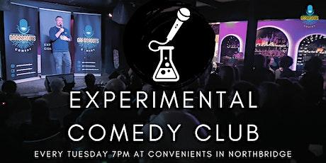 The Experimental Comedy Club - November 9th 2021 tickets