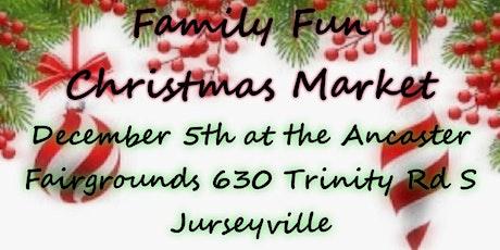 Family Fun Christmas Market tickets