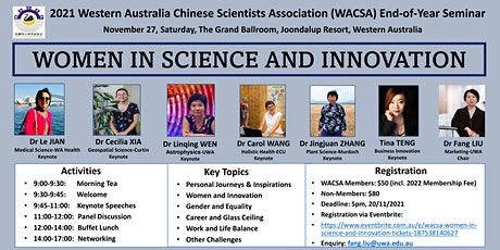 WACSA Women in Science and Innovation tickets