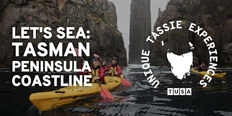 Let's Kayak & Sea the Spectacular Tasman Peninsula Coastline tickets
