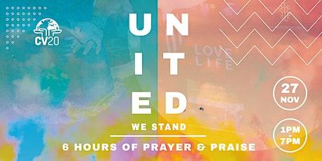 CV20 : UNITED WE STAND NOVEMBER tickets
