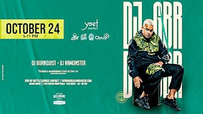 DJ GBR tickets