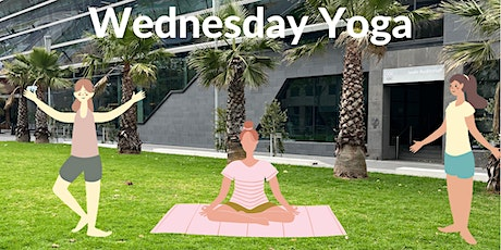 Yoga on Southbank Boulevard - Wednesday Morning tickets