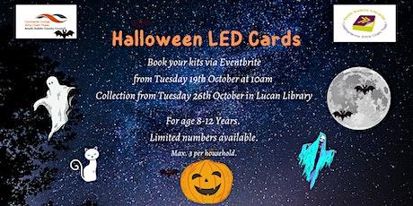 Light Up LED Halloween Card Kits tickets