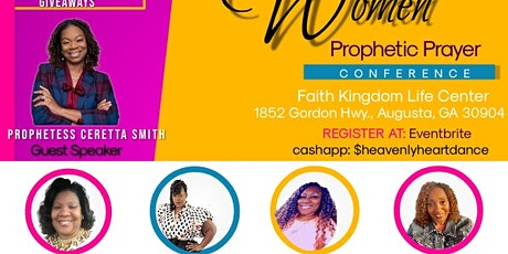 """""""Travailing Women"""" Prophetic Prayer Conference tickets"""